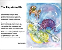 A Bouquet of Poems - The Airy Armadillo